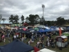 aerial view trade stalls