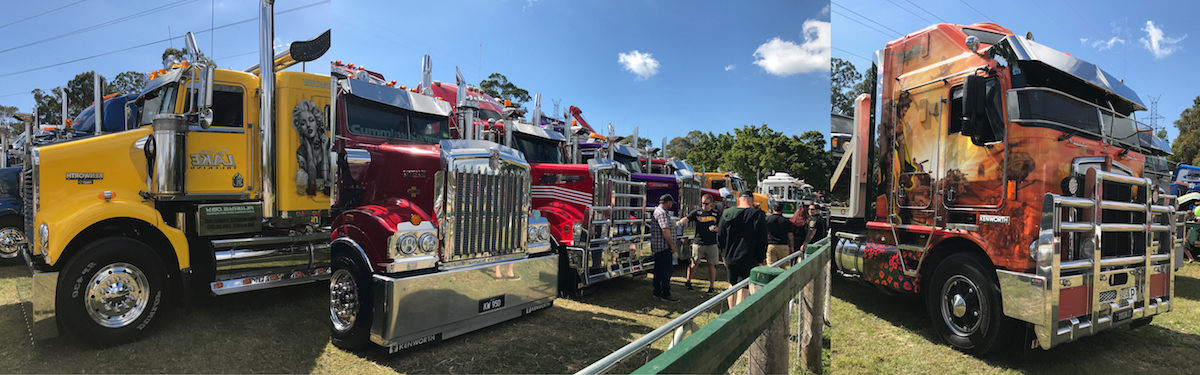 Sunday 9th Aug Truck Displays