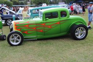 Hot Rod Car Displays